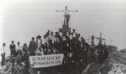 Zumarragako mendigoizaliak Ernion
