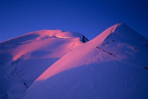 Mont Blanc arrosa