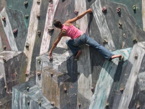 Experta escaladora